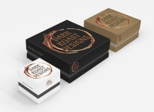 Dark Roast Designs Logo and Box Design